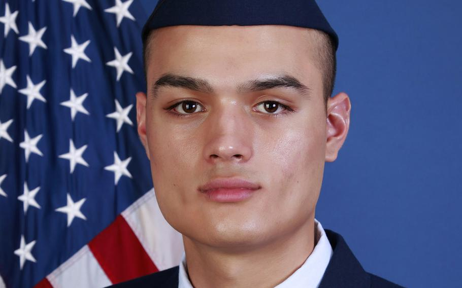 Airman 1st Class Julian Carlos Torres.