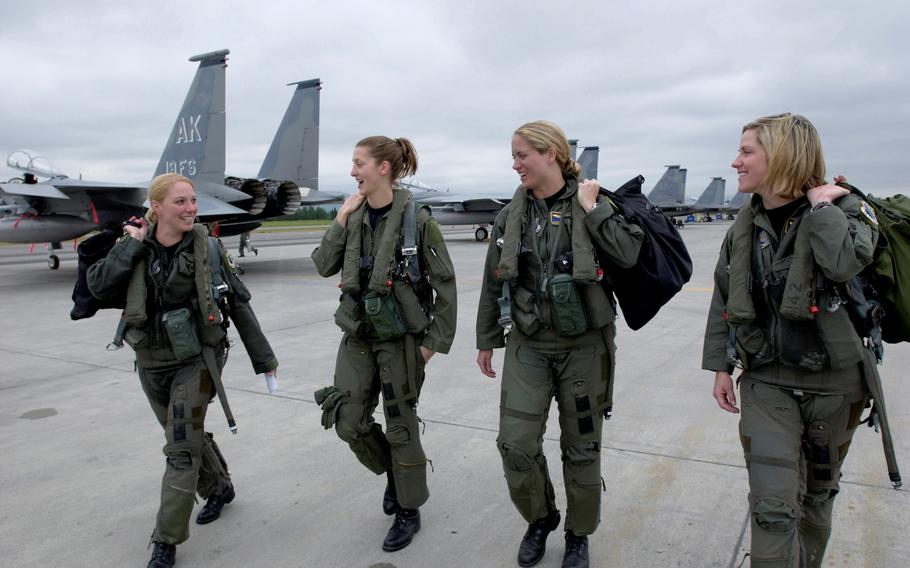 A new policy announced Sept. 23, 2019. allows airmen to perform flight duties during  pregnancy.