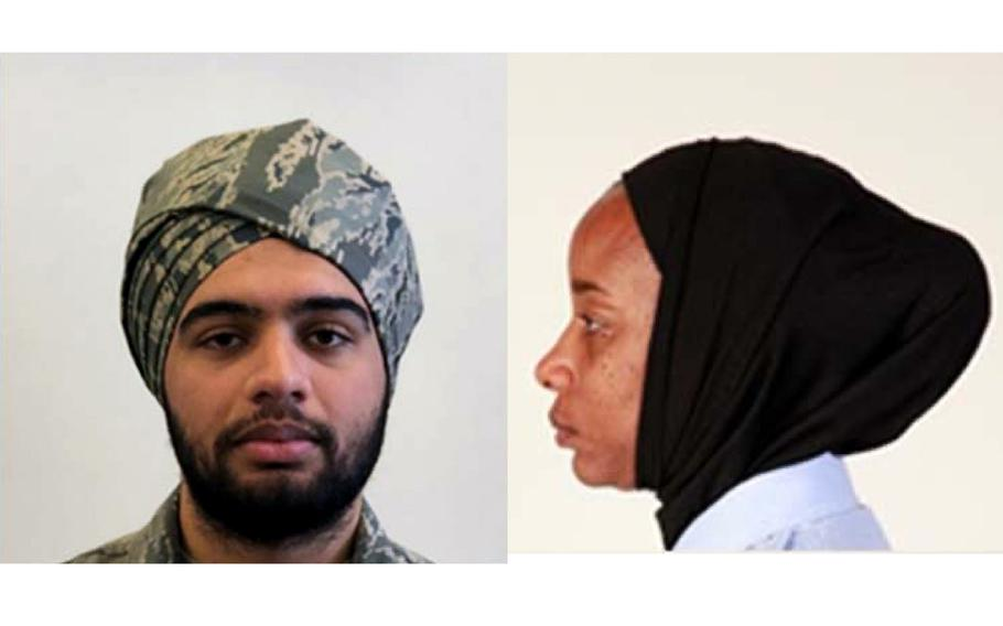 The U. S. Air Force has published new guidance for religious accommodations that allow airmen to wear beards, turbans and hijabs.