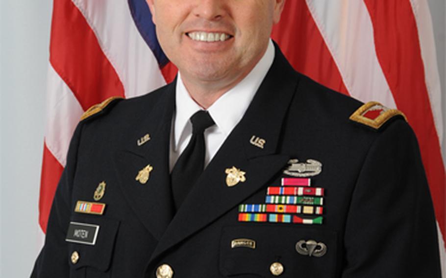 Col. Matthew Moten.
