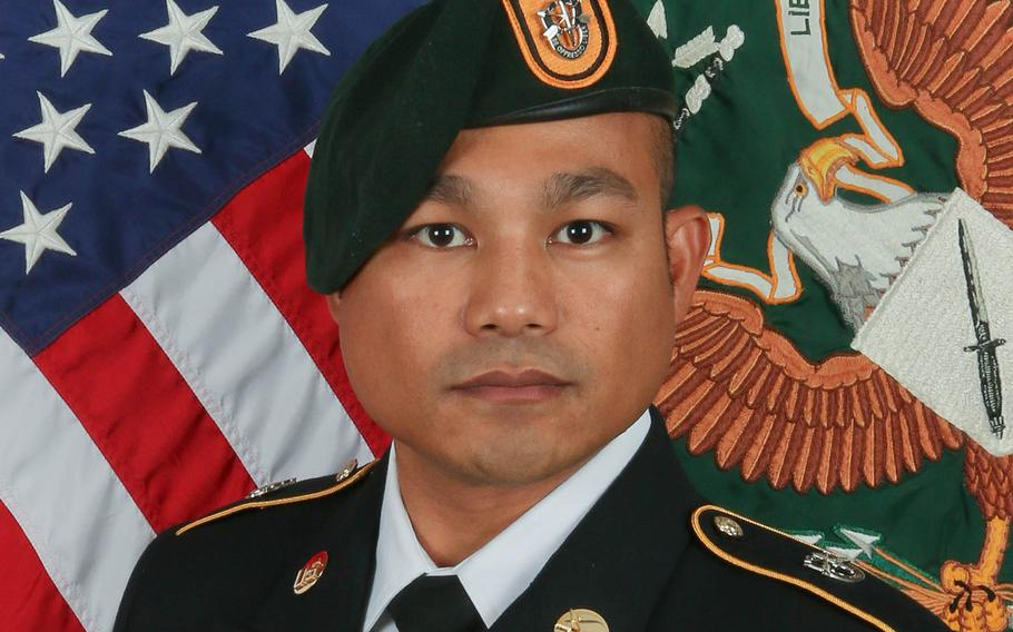 Staff Sgt. Reymund Rarogal Transfiguracion, 36, of Waikoloa, Hawaii, died Sunday, Aug. 12, 2018, of wounds he received days earlier when an improvised explosive device detonated near him in Helmand province.