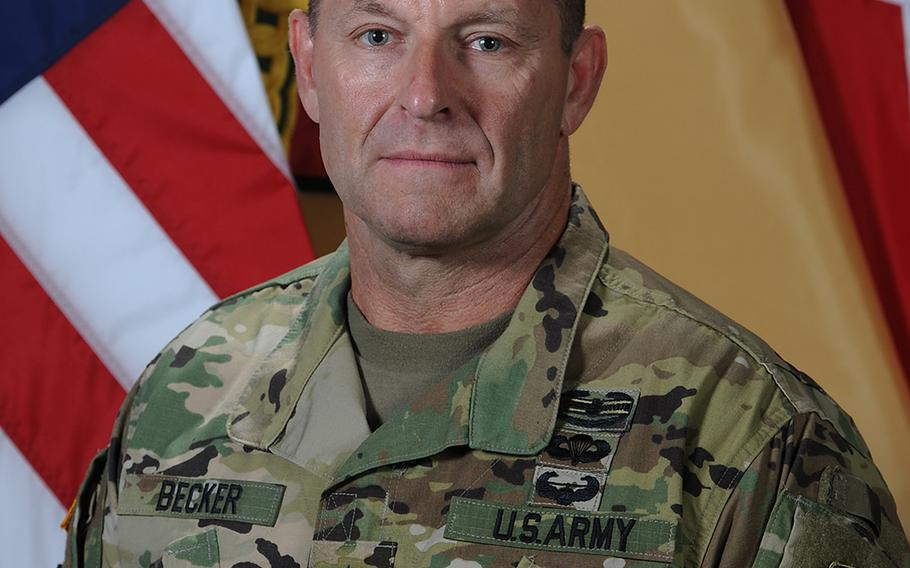 Lt. Gen. Brad Becker was relieved of his position as commander of Installation Management Command.