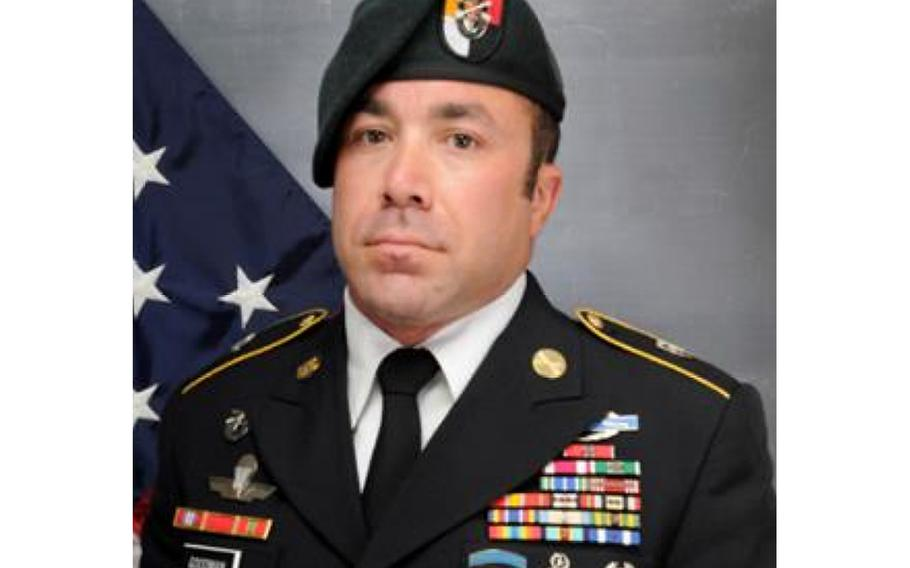 Master Sgt. Nathan Goodman, 36, of Hope Mills, North Carolina, died Jan. 14, 2020 during a routine military free fall training exercise near Eloy, Arizona.