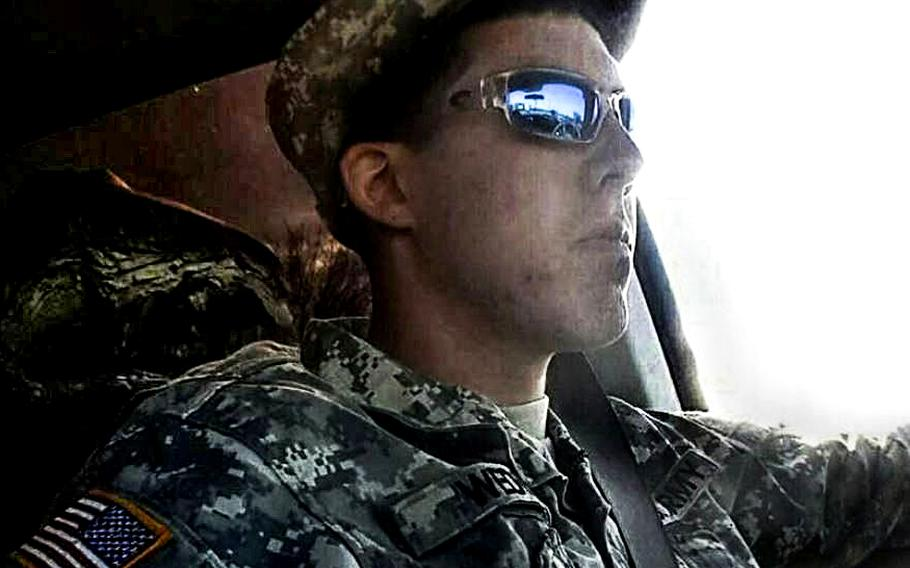 Army Pvt. Gregory Wedel-Morales.
