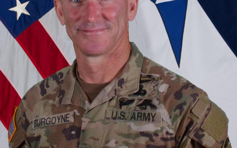 """Command Sgt. Maj. Arthur """"Cliff"""" Burgoyne III was cleared by an investigation into allegations he used unprofessional language and reinstated to his role as the command sergeant major of III Corps and Fort Hood, Army Forces Command announced Friday."""