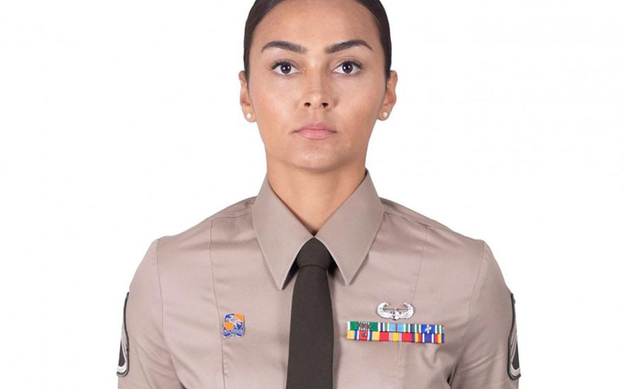 The Army now allows a soldier to wear up to six ribbons in two rows on the left side of the Class B Army Green Service Uniform, along with one badge or metal tab replica. A soldier may wear a regimental insignia on the right.