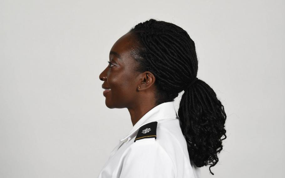 The Army updated its grooming standards to permit female soldiers to wear ponytails and braids on-duty in all uniforms.