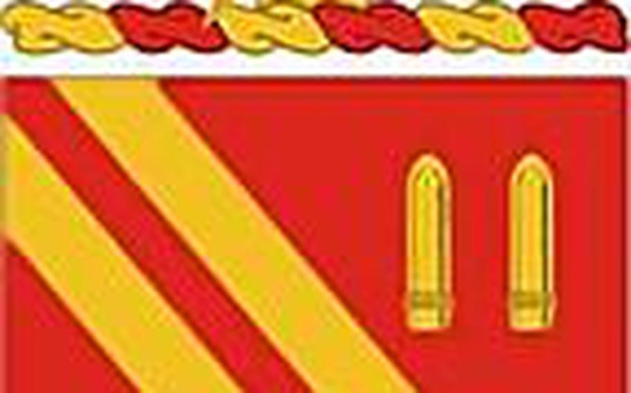 4th Battalion, 42nd Field Artillery Regiment coat of arms