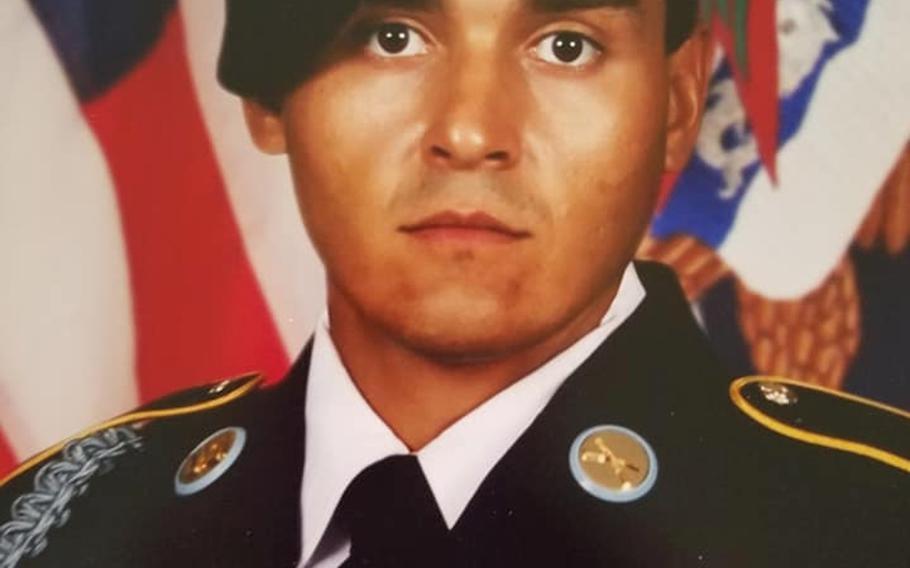 Spc. Terrance Salazar, 24, of Pleasanton, Texas, assigned to 1st Battalion, 325th Airborne Infantry Regiment, 2nd Brigade Combat Team, was found dead Nov. 11, 2020 at Fort Bragg, N.C.