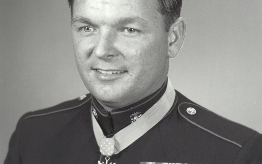 Richard Pittman was awarded the Medal of Honor by President Lyndon B. Johnson at a White House ceremony on May 14, 1968.