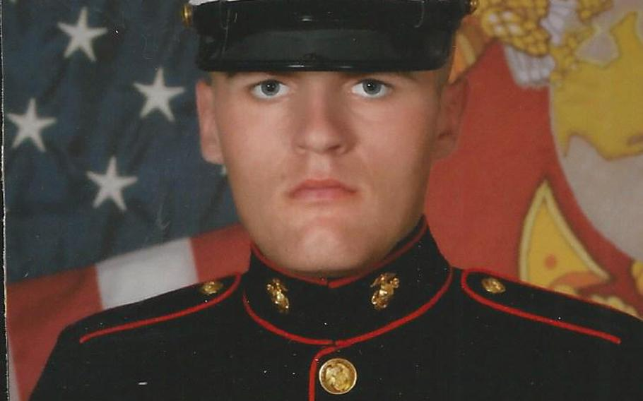 Pfc. Ethan M. Moores