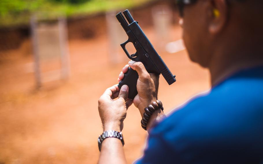 Civilians and Marines credentialed under the Law Enforcement Officer Safety Act may now carry their own firearms for personal protection on Marine property, but cannot use them while on duty.