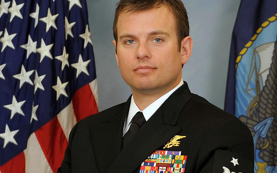 Navy SEAL Senior Chief Petty Officer Edward C. Byers Jr., will be awarded the Medal of Honor by President Barack Obama during a White House ceremony on Monday Feb. 29, 2016.