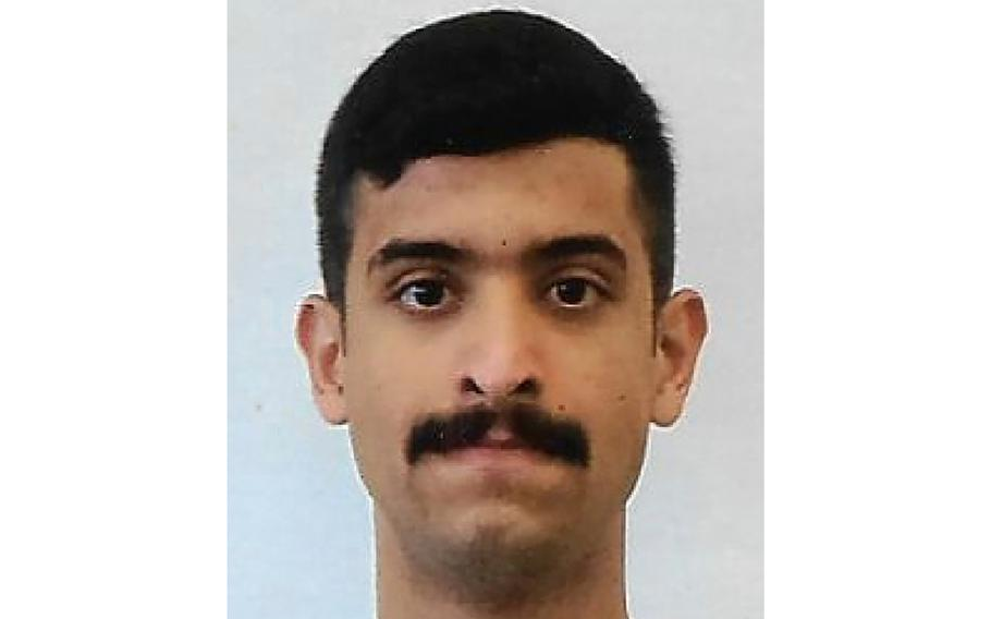 This undated photo provided by the FBI shows Mohammed Alshamrani.