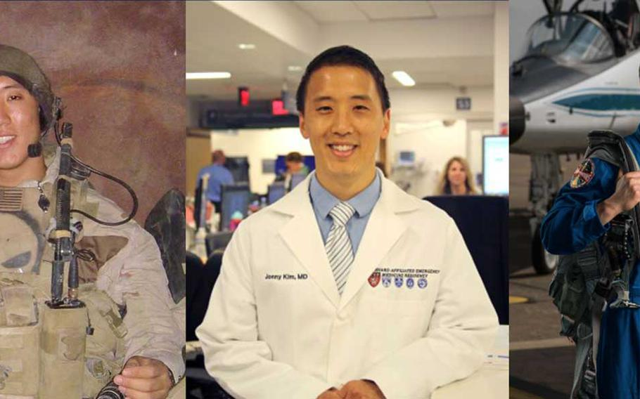 Navy Reserve Lt. Jonny Kim, a former enlisted Navy SEAL, decorated Iraq veteran and Harvard Medical School graduate just added NASA astronaut to his resume.