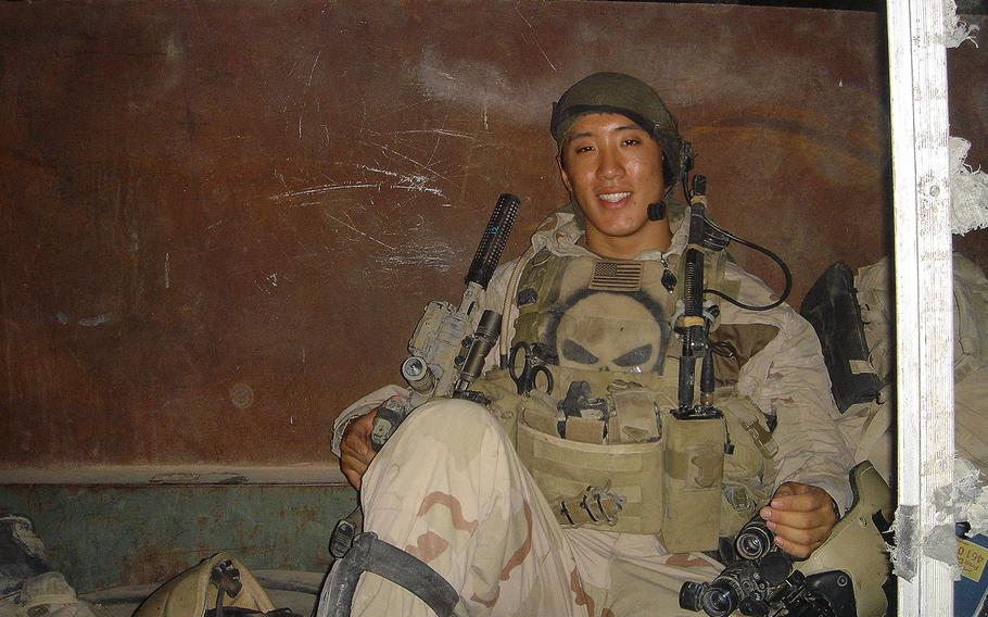 Former enlisted Navy SEAL Jonny Kim, who is now a lieutenant in the Navy Reserve, completed astronaut training Jan. 10, 2020.