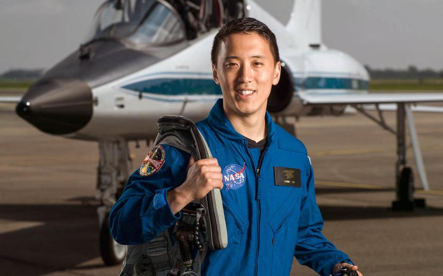 Navy Reserve Lt. Jonny Kim, photographed June 6, 2017, graduated as one of 11 new NASA astronauts in January 2020.