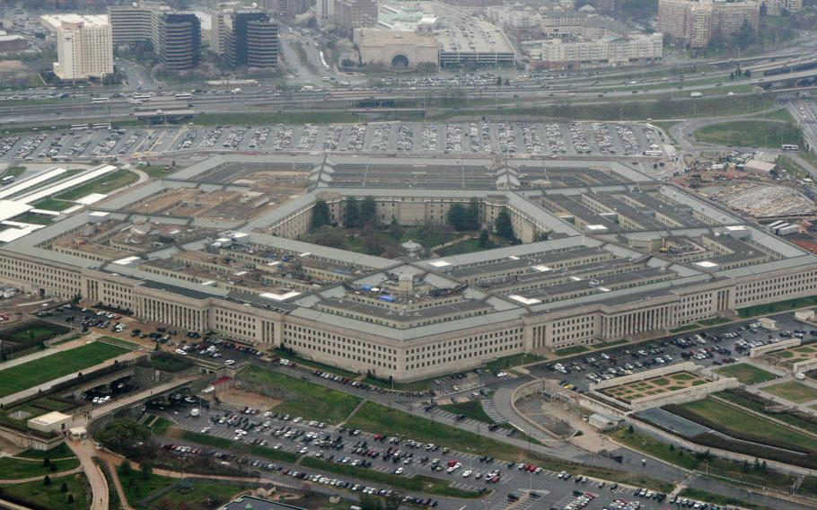 The Pentagon in Washington on March 27, 2008.