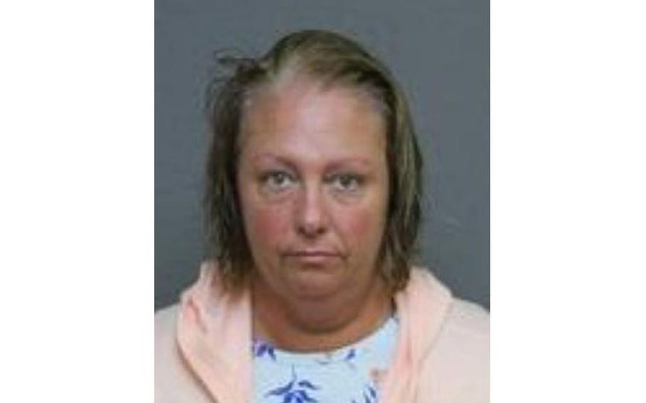 Lori Desjardins, a 45-year-old woman fromSouthington, Conn., ischarged with third-degree assaultand second-degree breach of peace following the incident on the anniversary ofSept. 11, police said.