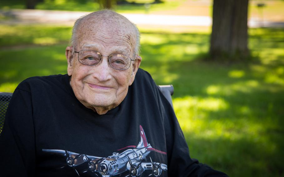 Joyce Johnson of Racine, Minn., will be awarded six medals for his military service on his 100th birthday.