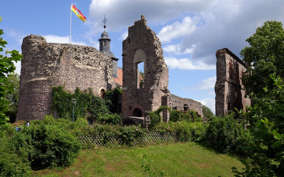 Burg Hayn in Dreieichenheim, Germany, was built in the late 13th century. In pre-coronavirus days, the castle and its grounds were used for medieval markets, concerts and theater, among other things.