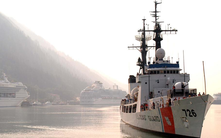 The former U.S. Coast Guard Cutter John Midgett left Puget Sound, Wash., on June 1 en route to its new home as part of the Vietnamese Coast Guard.