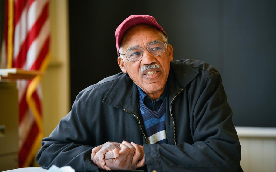 Newell Quinton, 77, of San Domingo, is a retired federal government worker who grew up in the community and is now a board member of the John Quinton Foundation, which aims to preserve San Domingo history.
