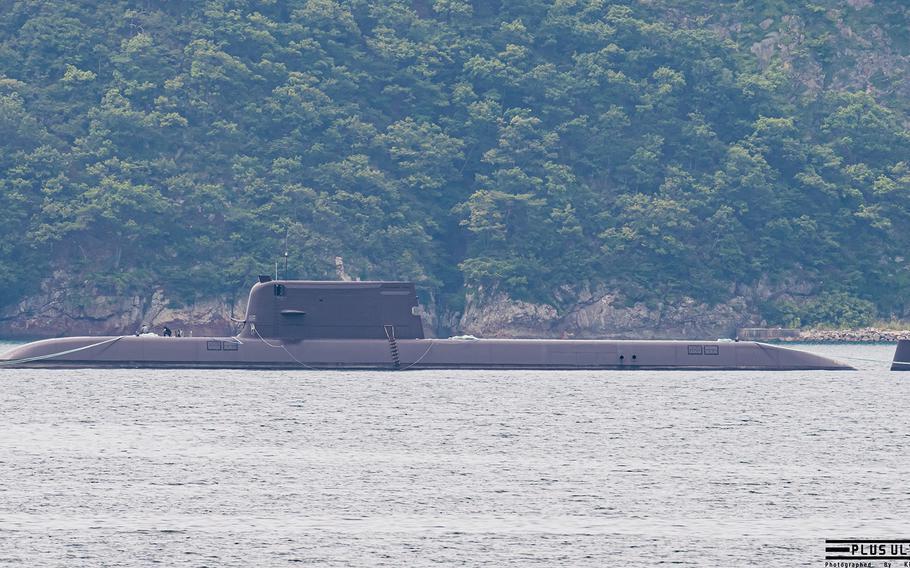 Dosan Ahn Chang-ho submarine.