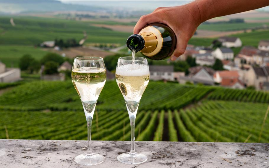 Sparkling wines taste even better when the sipper is surrounded by the beauty of France's Alsace region.