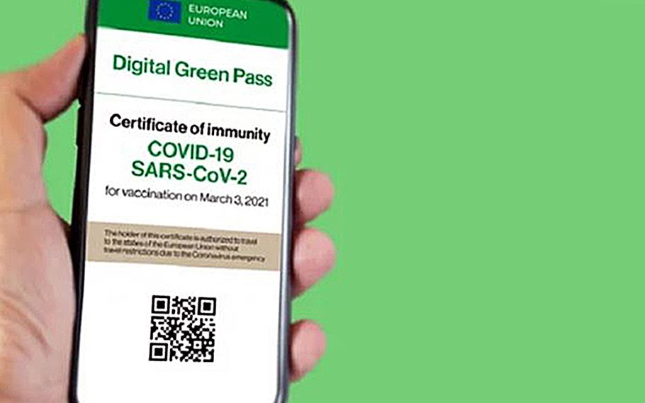 People who want to visit a nightclub, disco or dance club will have to show their green pass health certification, or its equivalent.