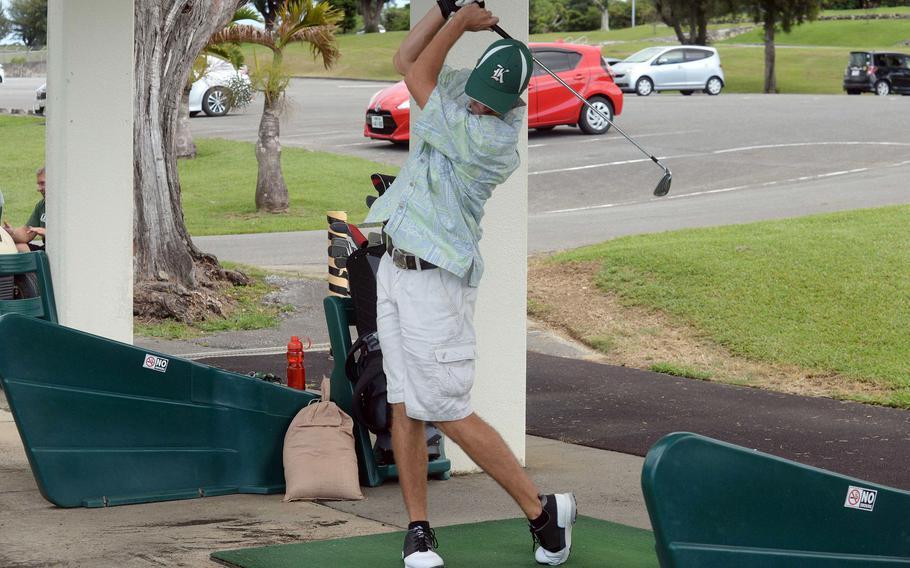 Senior Chett Huff is one of two starters returning to Kubasaki's golf lineup.