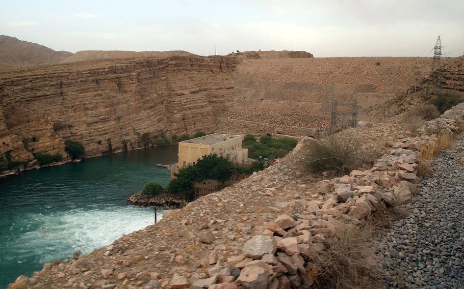 With U.S. help, the Afghan government was able to install a third turbine generator for the Kajaki Dam in 2017, providing large amounts of electricity in southern Afghanistan's Helmand province. Helmand province fell to the Taliban Aug. 13, 2021.