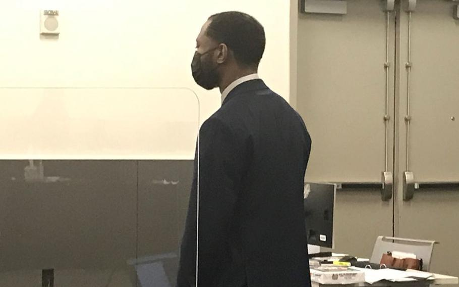 A judge on Monday declared a mistrial in the case of Tevin Biles-Thomas, who was charged with murder and other charges in a 2018 New Year's Eve party shootout that left three people dead.
