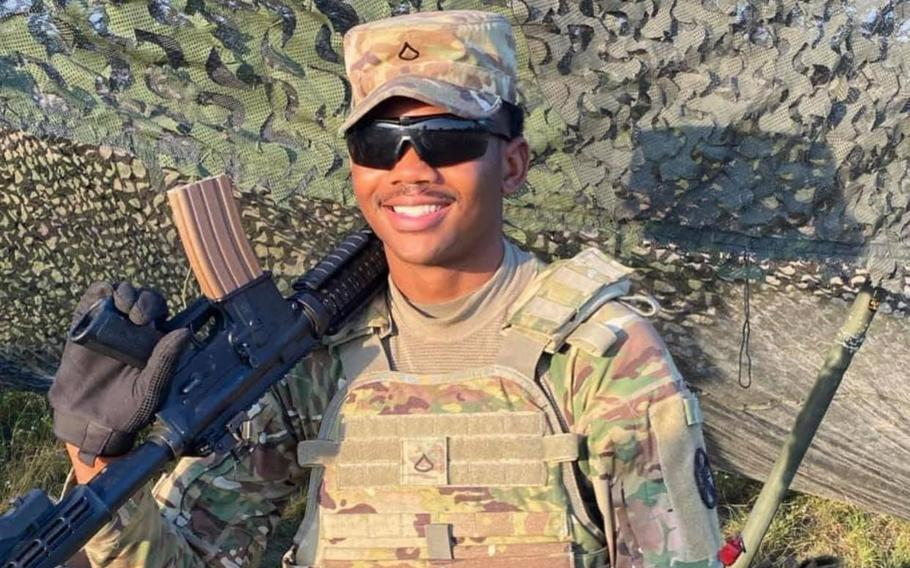 Pfc. Gregory Ellis, 21, drowned Saturday while swimming at Stillhouse Hollow Lake near Fort Hood, Texas. After in enlisting in 2019, Ellis arrived at Fort Hood in February 2020 and was assigned to the 13th Expeditionary Sustainment Command.