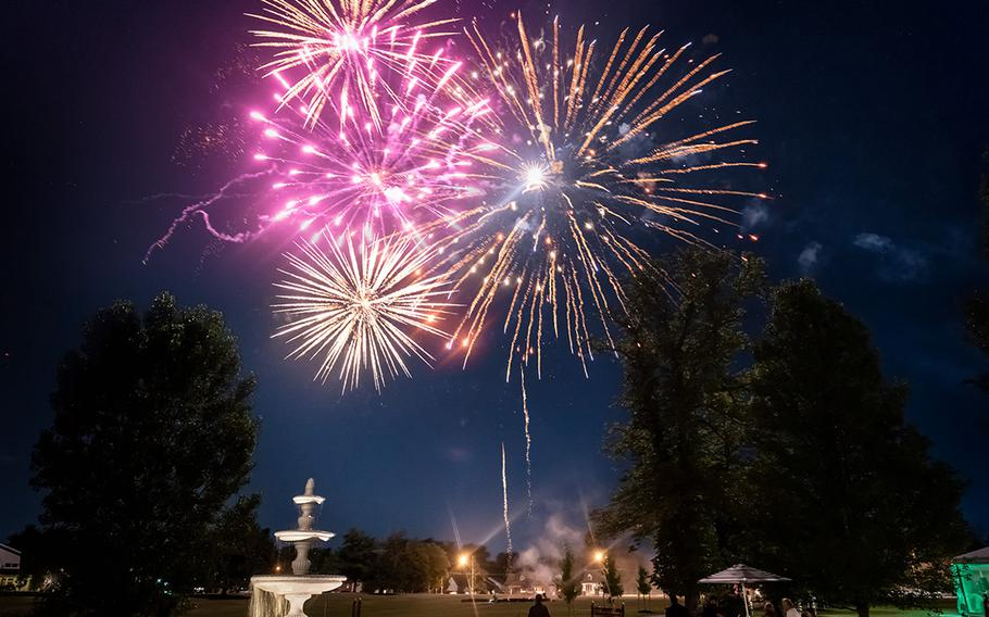 Fireworks are seen in this photo posted on Dec. 31, 2019, on Avanti Mansion's Facebook page.