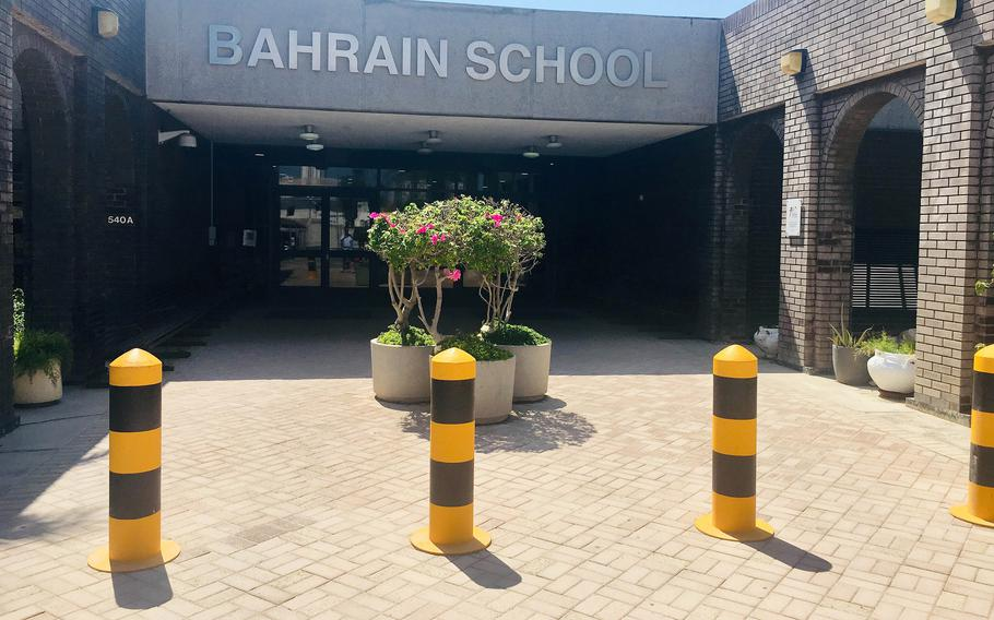 Students at DODEA's Bahrain School will transition to remote learning May 31, 2021, as the base goes into health protection condition level Charlie, amid a rise in new coronavirus cases on the island.