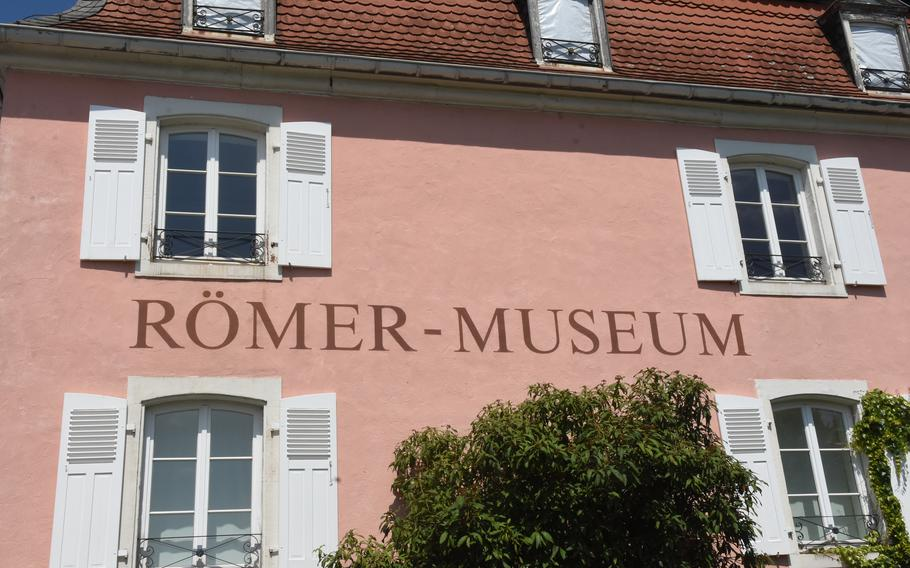 Artifacts from former Roman settlements in western Germany are housed at the Roman Museum Homburg-Schwarzenacker.