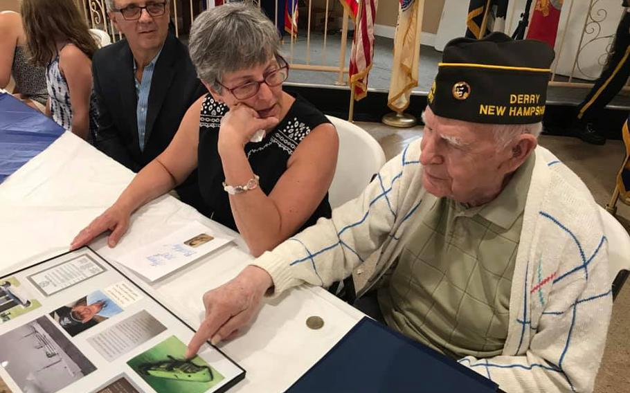 Paul Plotkin was honored on June 26, 2021, for his 100th birthday and World War II service.