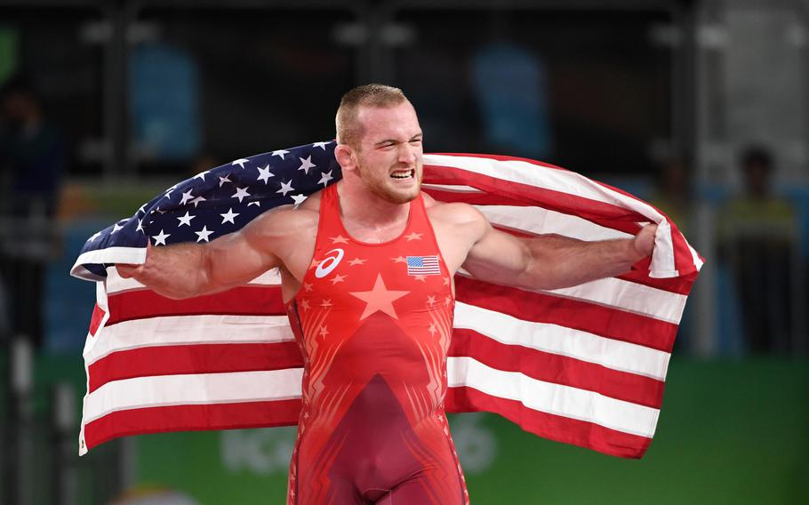 """Kyle Snyder won a gold medal in the 2016 Rio Olympics. Snyder, aka """"Captain America,"""" lost to Abdulrashid Sadulaev, """"The Russian Tank,"""" in the 2021 Tokyo Olympics."""