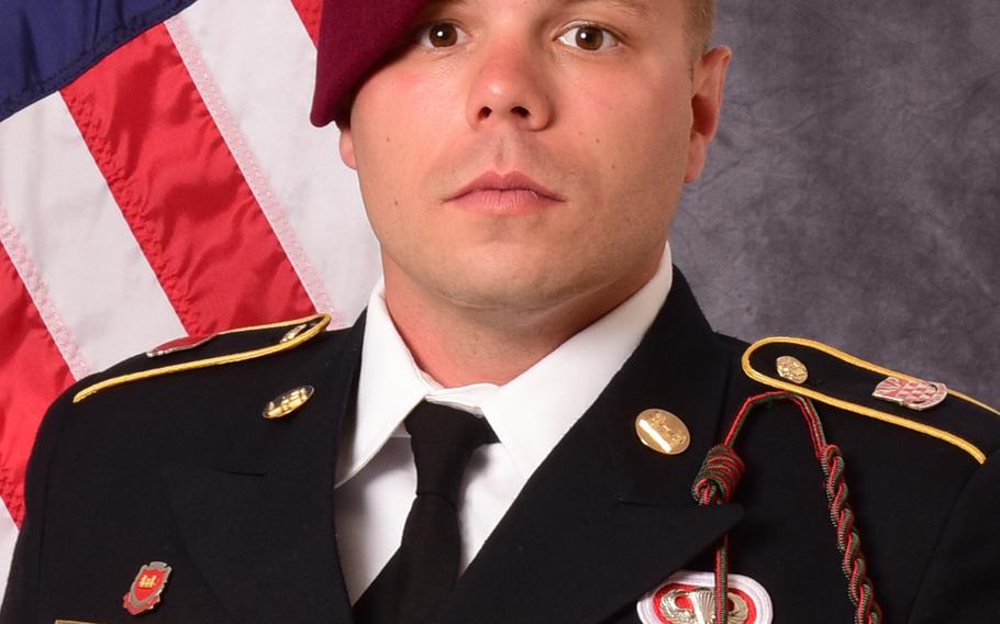 Staff Sgt. Ian P. McLaughlin, 29, died on Jan. 11, 2020, when his vehicle hit a roadside bomb in Afghanistan's Kandahar province.  U.S. Army