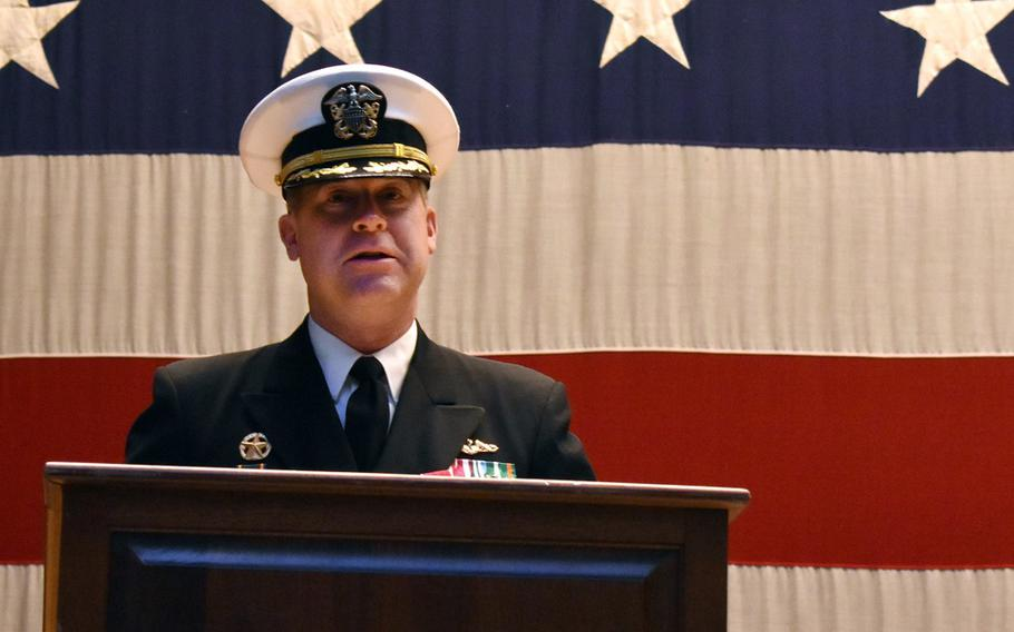 Capt. Todd Moore  in February 2019.