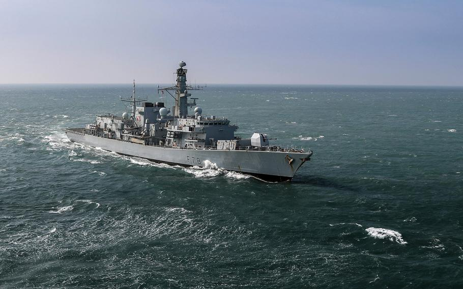 Prior to the HMS Richmond's recent trip through the Taiwan Strait, the last British warship to sail the politically sensitive waterway was the HMS Kent, seen here in 2008.