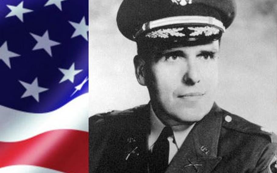 Army 1st Lt. W. Wallace Stover