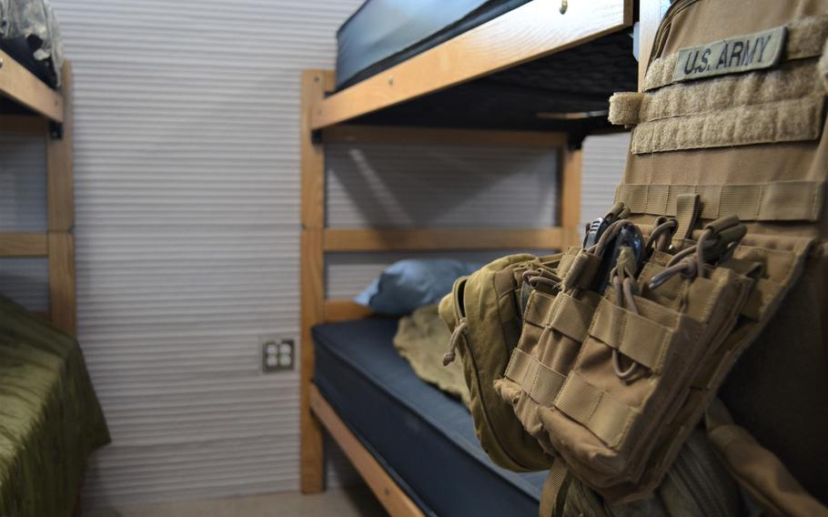 The Texas National Guard on Monday unveiled a new barracks at Camp Swift, Texas, built using 3D printing technology.  The barracks can house up to 72 soldiers and costs about a third the price of a traditional barracks, officials said.