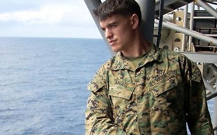 Sgt. Matthew Abbate, the namesake of the Patrol Base Abbate group.