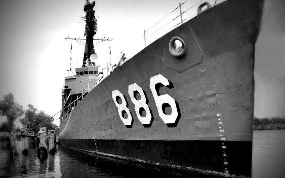 """During the Vietnam War, the USS Orleck earned the nickname """"The Gray Ghost of the Vietnam Coast."""""""