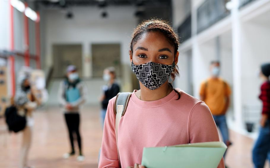 What mask is best? In short, a mask that your child will agree to wear. Double-layered is probably most effective, though.