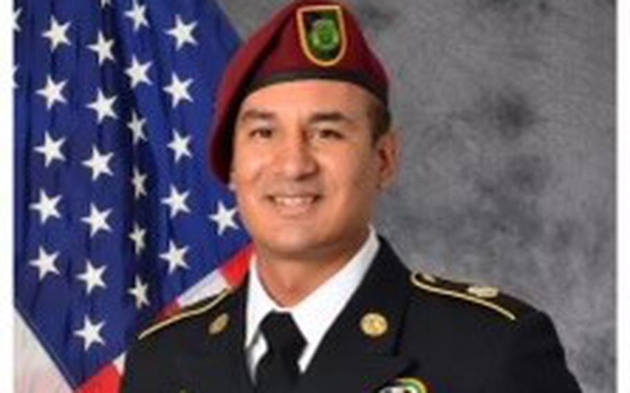Army Pfc. Patrick J. Hernandez was killed in a military vehicle crash at Fort Bragg, N.C., on Monday, Oct. 4, 2021.