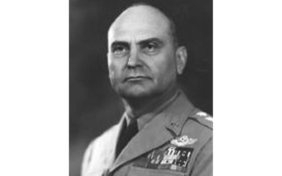 Gen. Ira Eaker was the commander of 8th Air Force in England at the time of the Battle of Bamber Bridge, a bloody fight between Black and white U.S. soldiers in northern England 78 years ago. Eaker was credited with disciplining dozens of white officers involved and creating racially mixed military police patrols, among other actions.