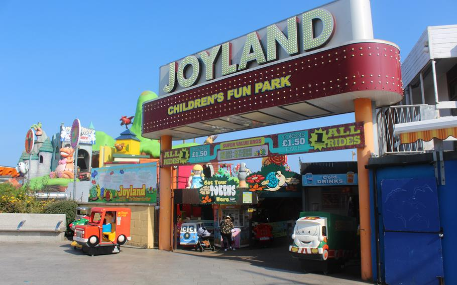 Joyland is a miniature amusement park in the seaside town of Great Yarmouth, England, that caters specifically to young children.